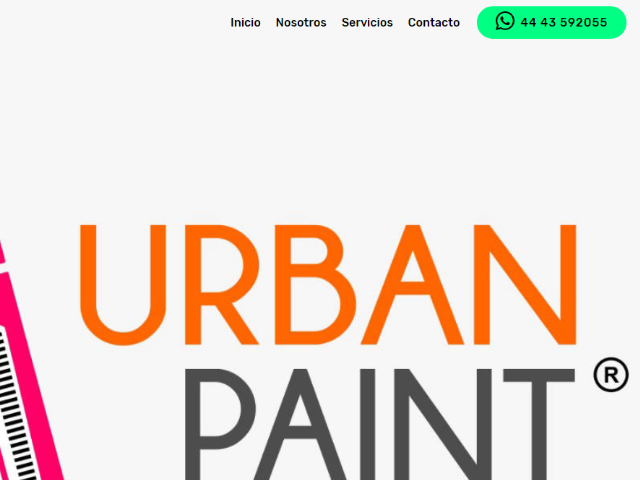 Sitio Web Urban Paint